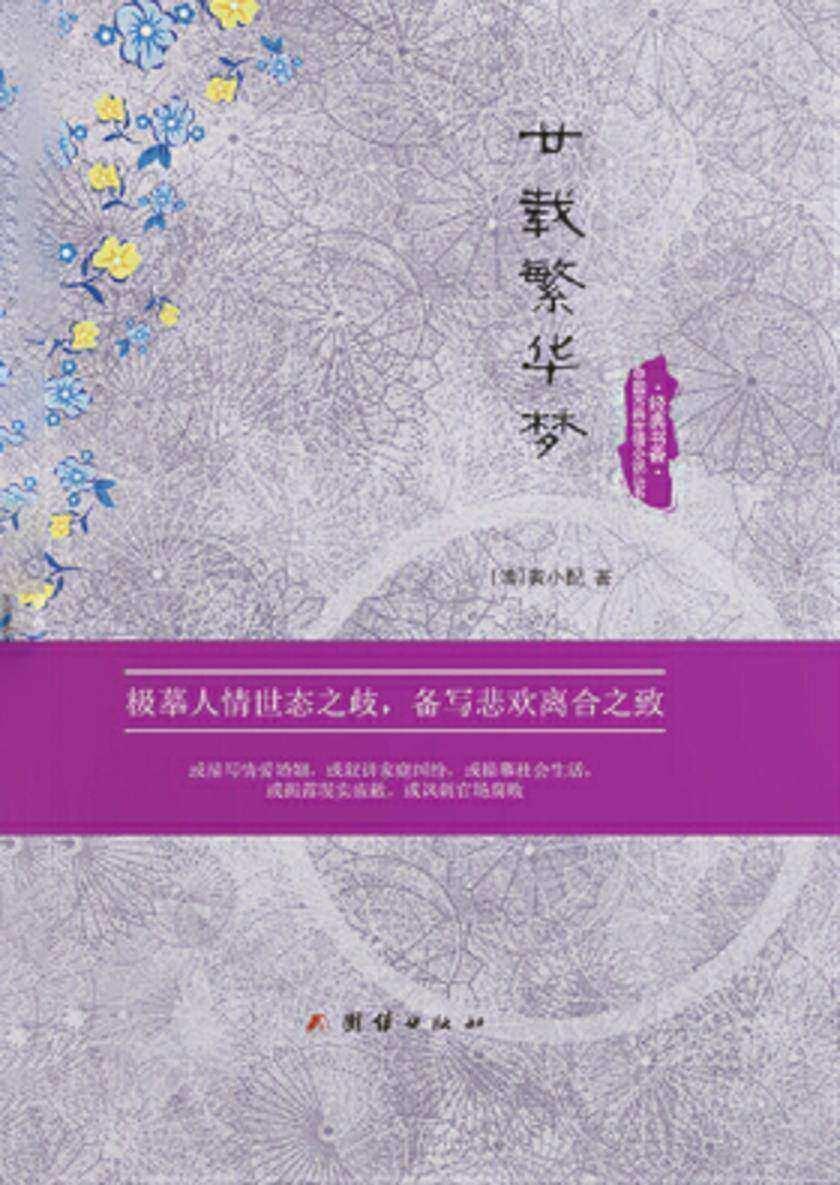 经典书香.中国古典世情小说丛书:廿载繁华梦