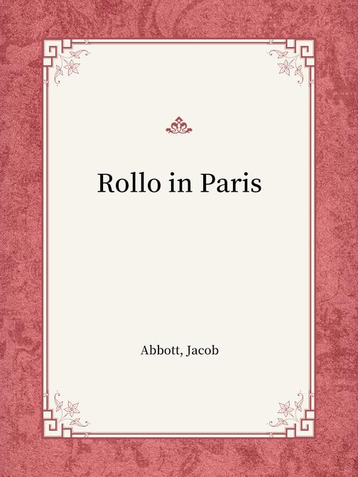 Rollo in Paris