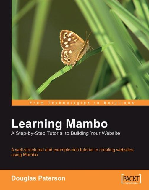 Learning Mambo: A Step-by-Step Tutorial to Building Your Website