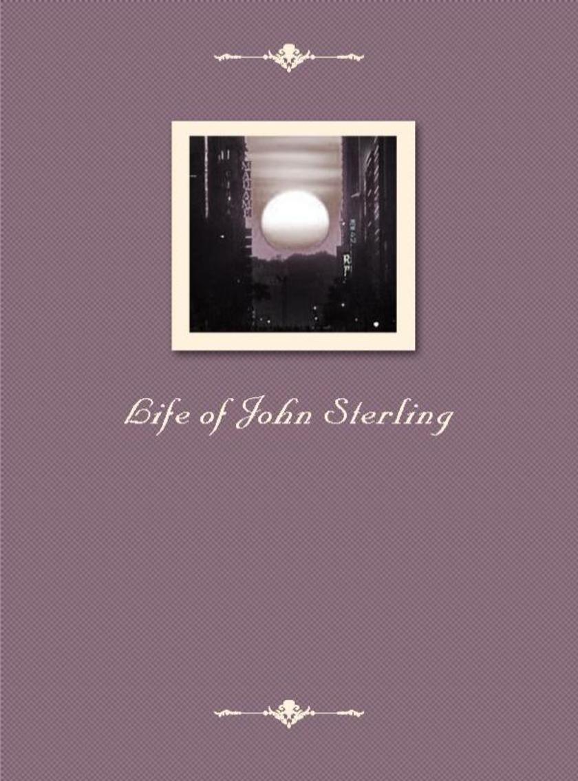 Life of John Sterling