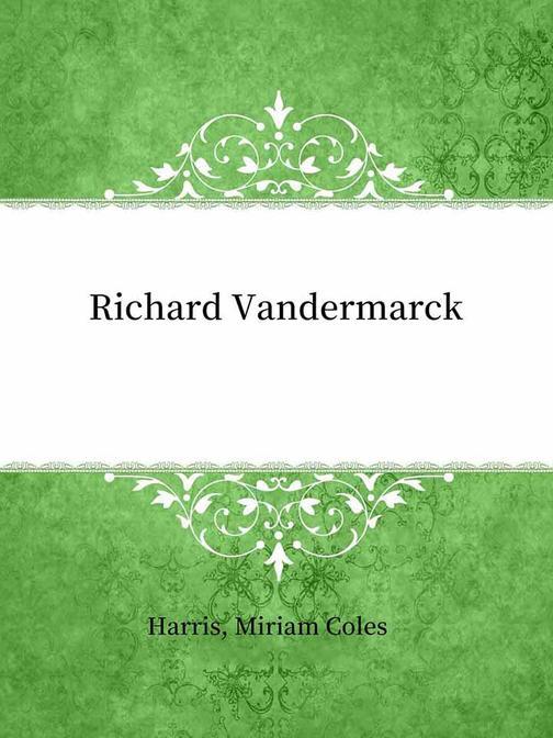 Richard Vandermarck