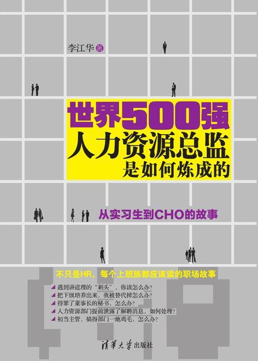 世界500强人力资源总监是如何炼成的:从实习生到CHO的故事