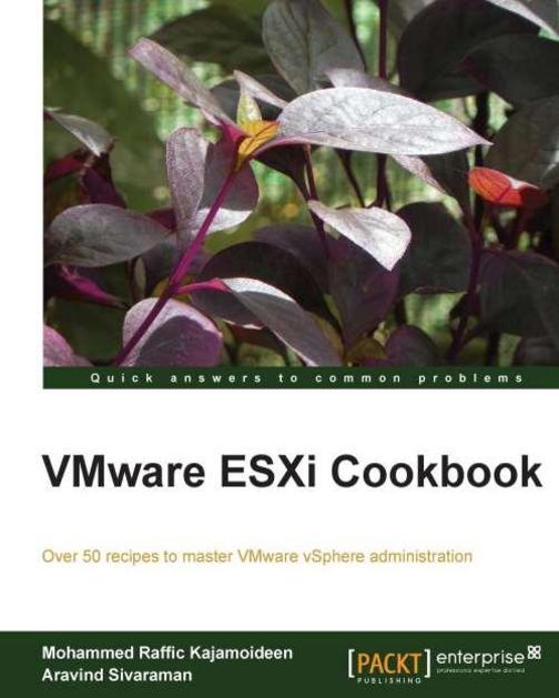 VMware ESXi 5.1 Cookbook