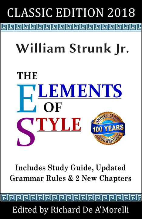The Elements of Style: Classic Edition (2018)