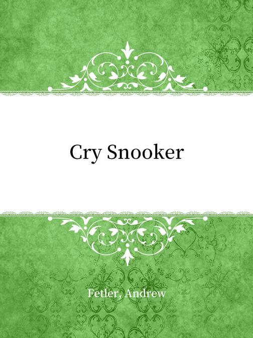 Cry Snooker