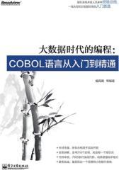 大数据时代的编程:COBOL语言从入门到精通(试读本)(仅适用PC阅读)