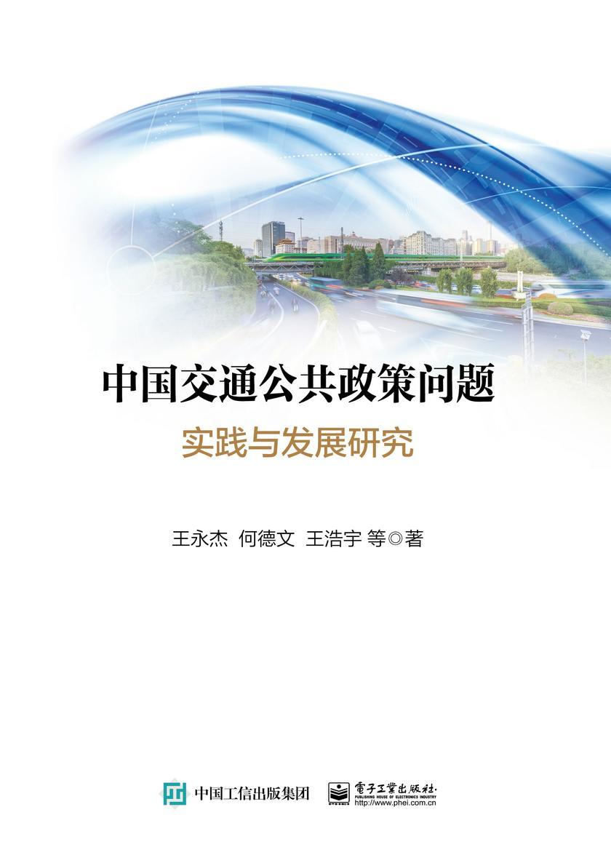 中国交通公共政策问题:实践与发展研究