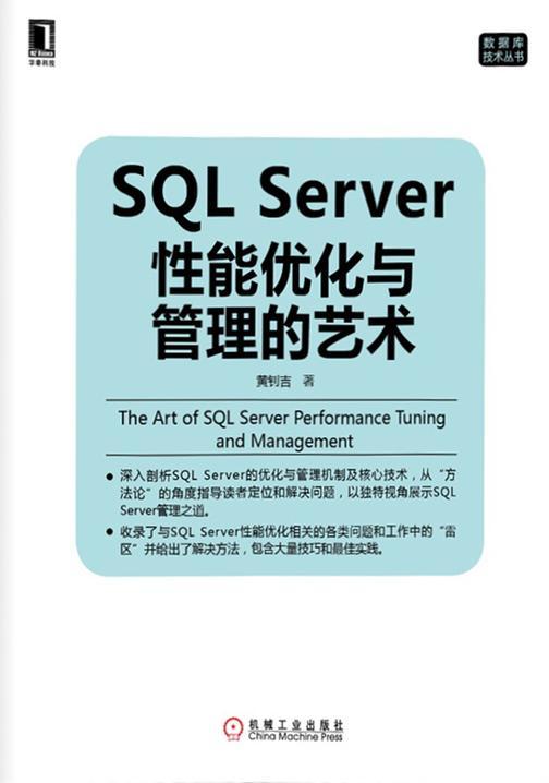 SQL Server性能优化与管理的艺术