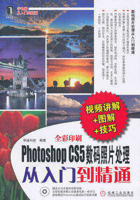 Photoshop CS5数码照片处理从入门到精通(视频讲解+图解+技巧)(光盘内容另行下载,地址见书封底)(仅适用PC阅读)