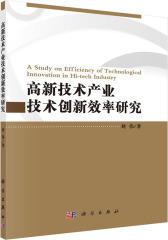 高新技术产业技术创新效率研究(试读本)