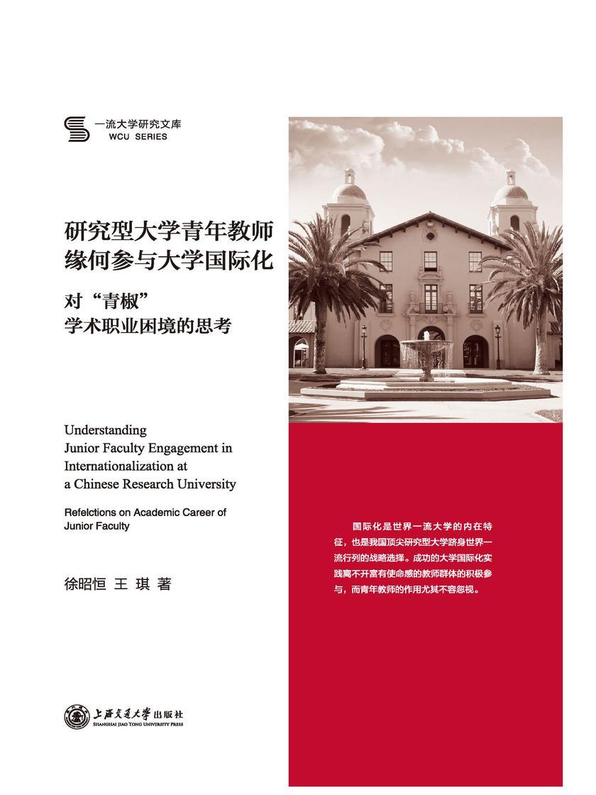 研究型大学青年教师缘何参与大学国际化