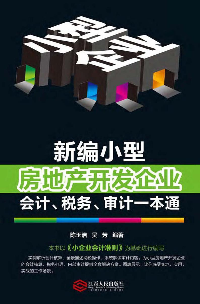 新编小型房地产开发企业会计、税务、审计一本通
