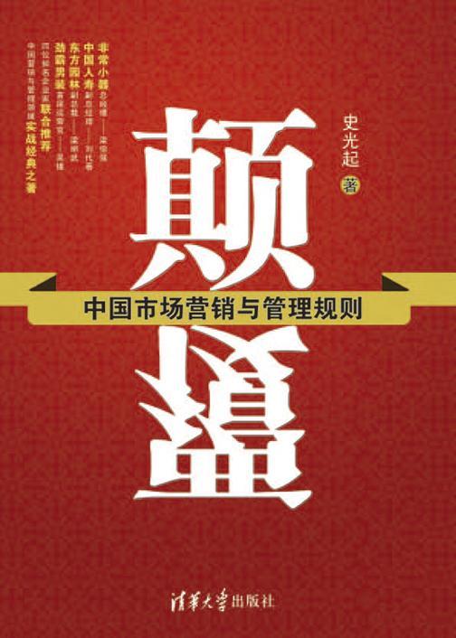 颠覆――中国市场营销与管理规则