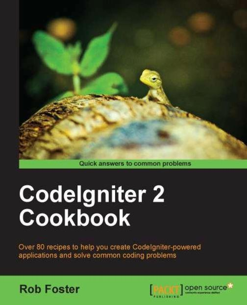CodeIgniter 2 Cookbook