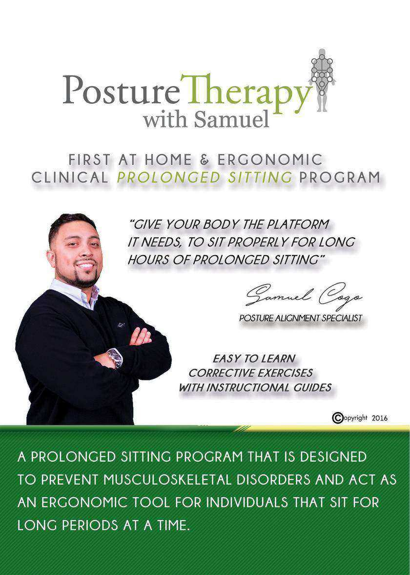 The First At-Home & Ergonomic Prolonged Sitting Program: Responsible Pain Manage