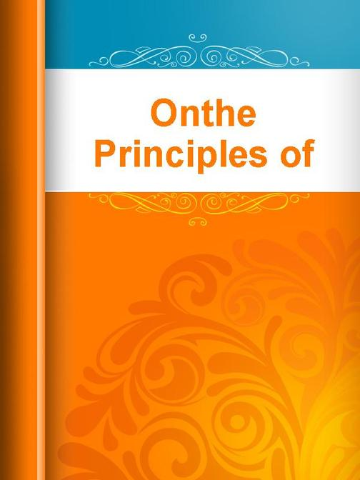Onthe Principles of Nature