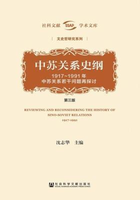 中苏关系史纲:1917~1991年中苏关系若干问题再探讨(第3版 全2册)