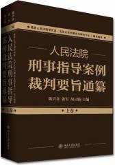 人民法院刑事指导案例裁判要旨通纂(上下卷)(试读本)