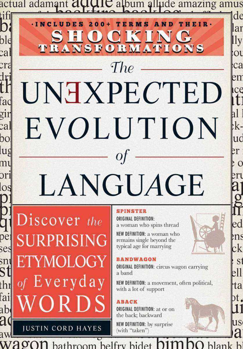 The Unexpected Evolution of Language