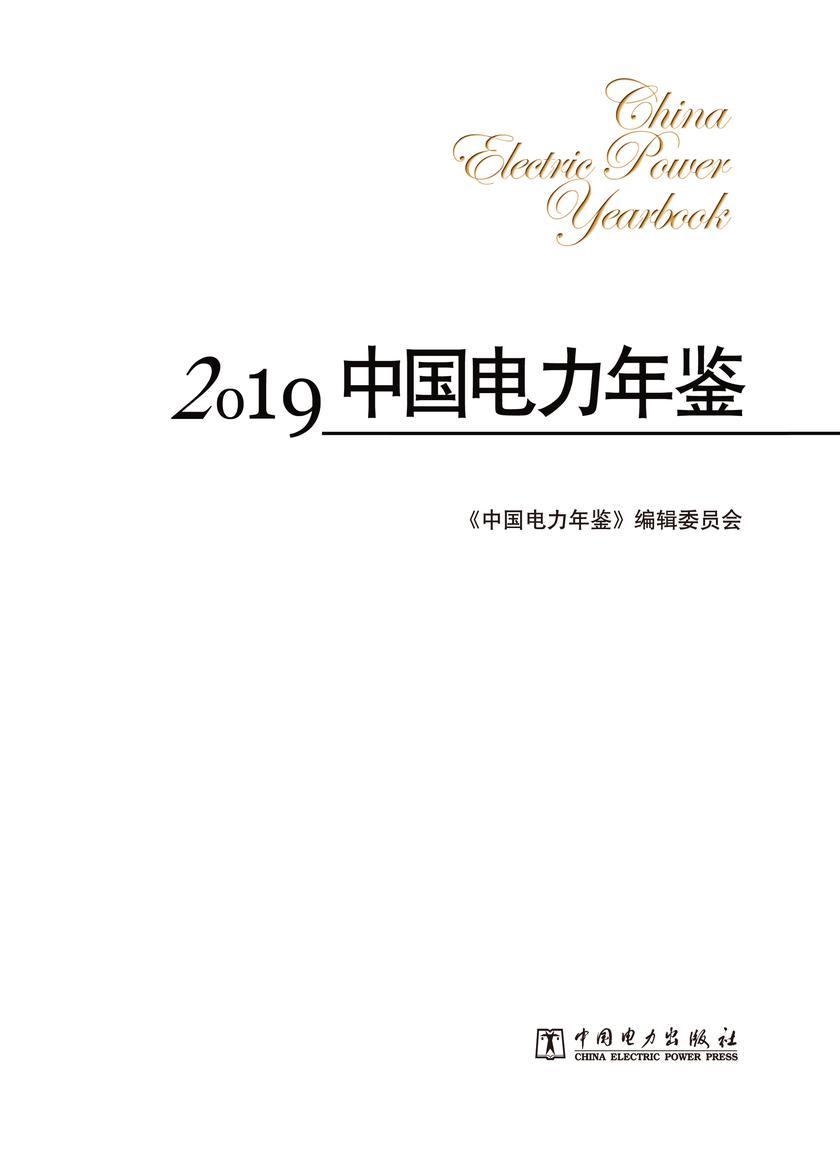 2019中国电力年鉴