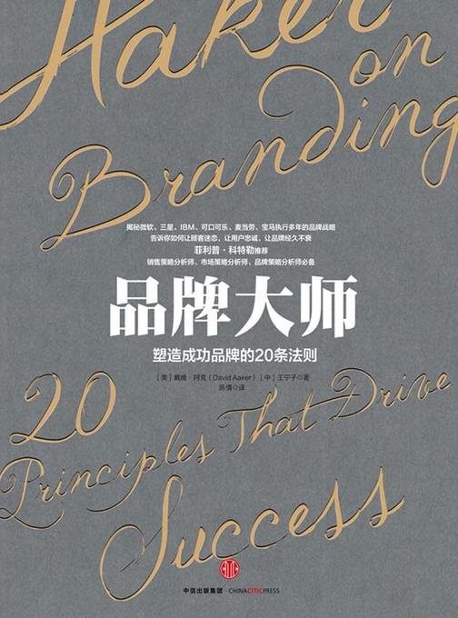 品牌大师:塑造成功品牌的20条法则