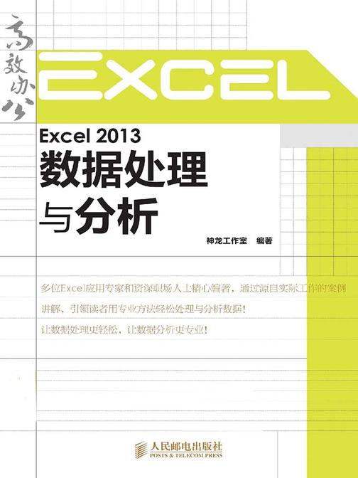 Excel 2013数据处理与分析