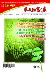 农民致富之友 半月刊 2011年10期(电子杂志)(仅适用PC阅读)