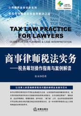 商事律师税法实务
