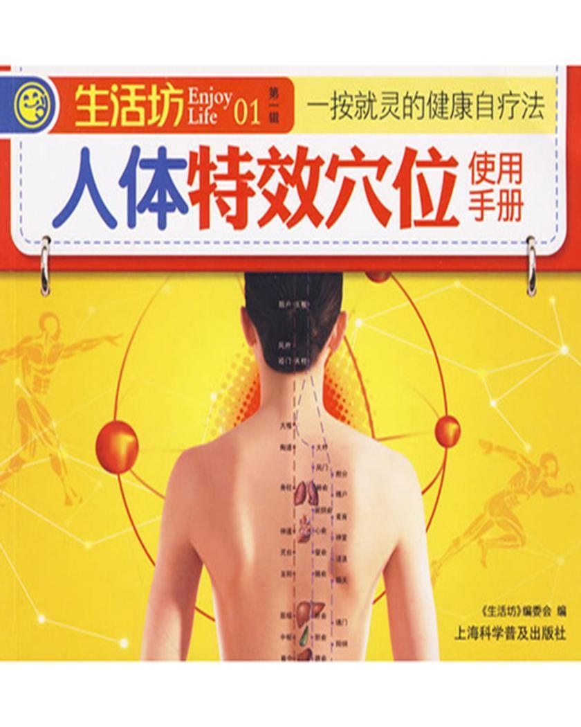 人体特效穴位使用手册