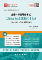 2017年9月全国计算机等级考试《二级Visual Basic语言程序设计》复习全书【核心讲义+历年真题详解】