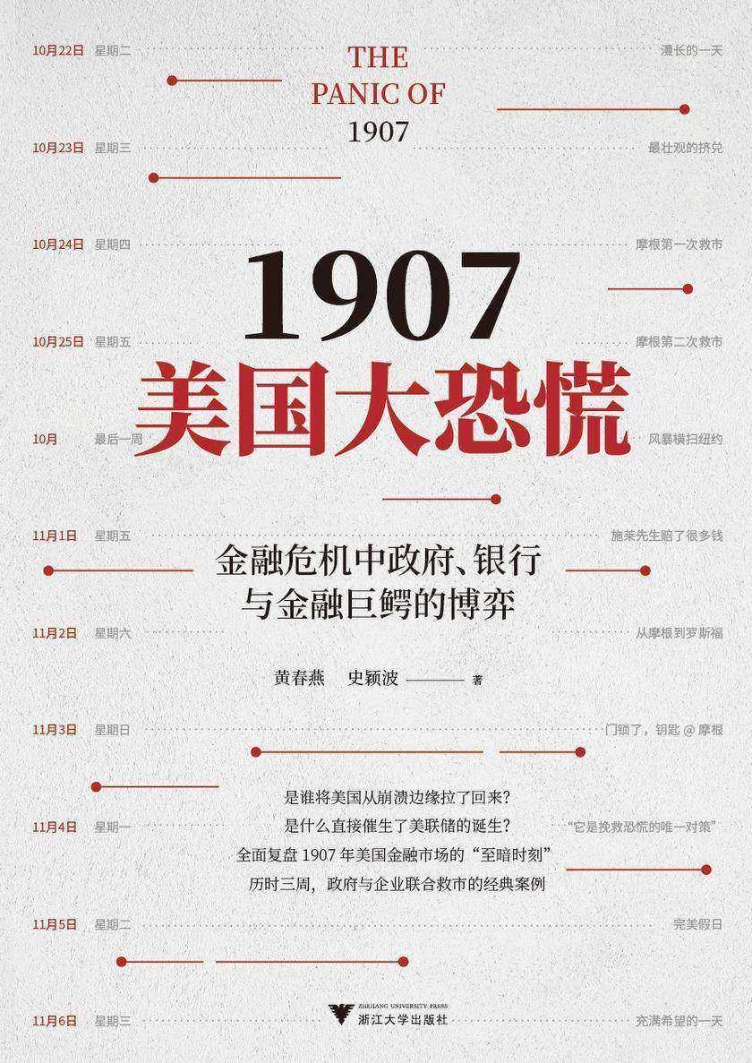 """1907美国大恐慌(全面复盘1907年美国金融市场的""""至暗时刻"""")"""