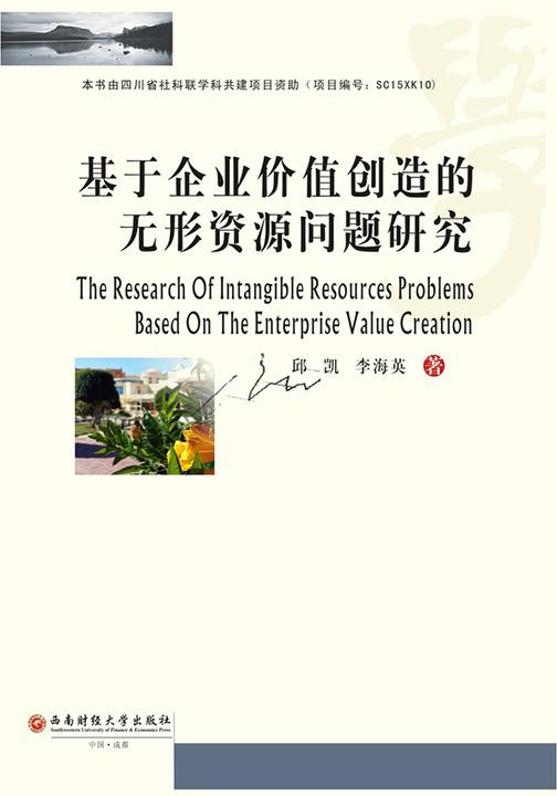 基于企业价值创造的无形资源问题研究