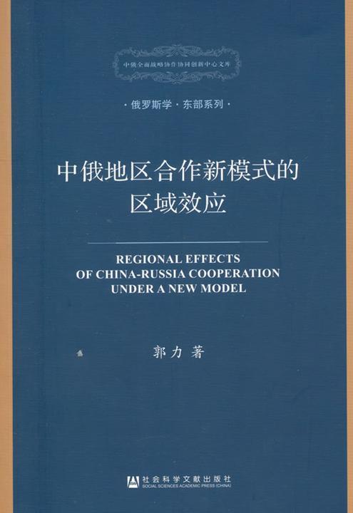 中俄地区合作新模式的区域效应(中俄全面战略协作协同创新中心文库·俄罗斯学·东部系列)