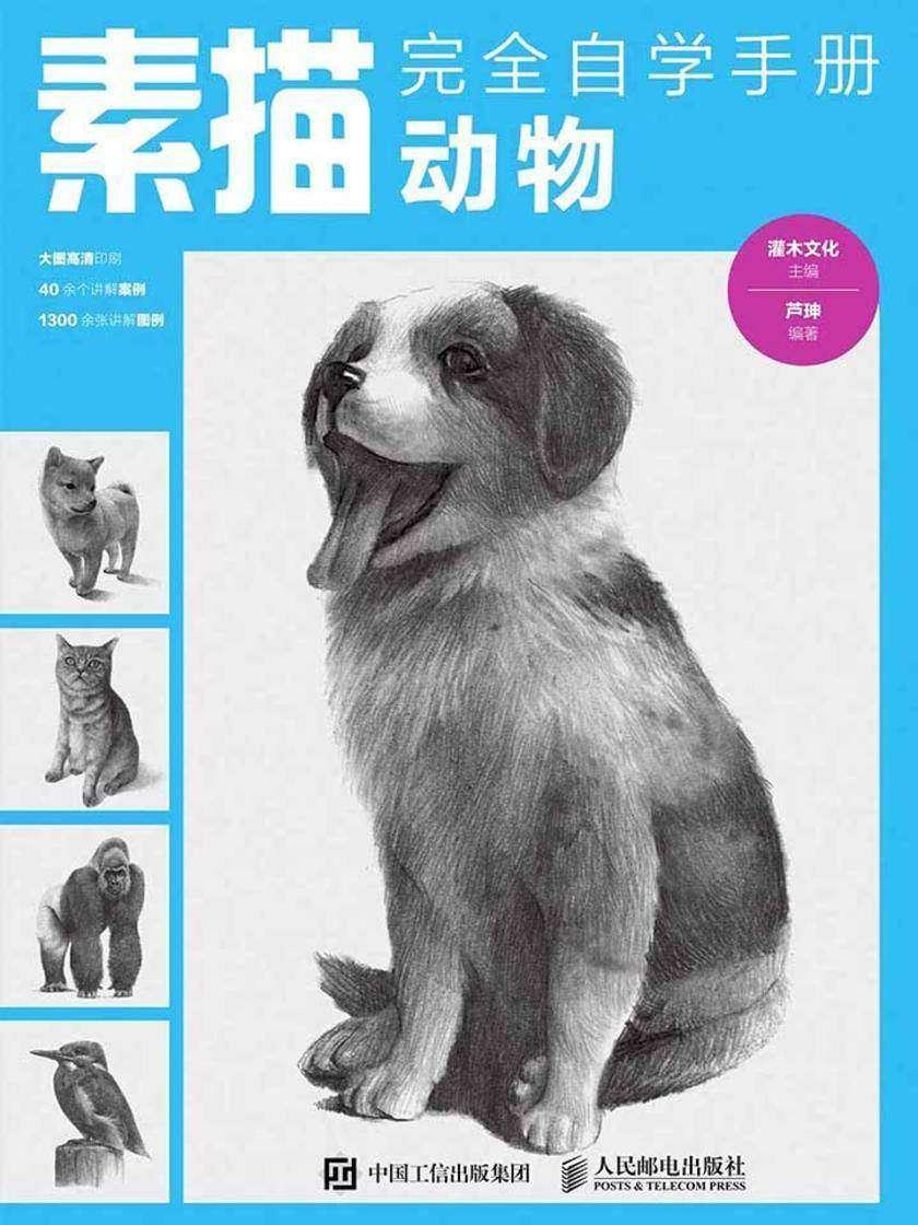 素描完全自学手册——动物