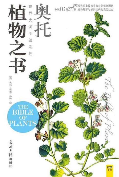 世界大师手绘彩色植物之书