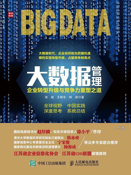 大数据管理 企业转型升级与竞争力重塑之道