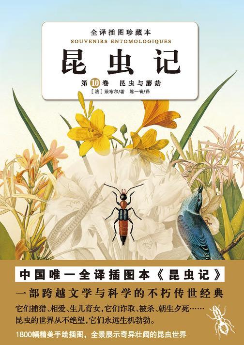 昆虫记(第十卷):昆虫与蘑菇