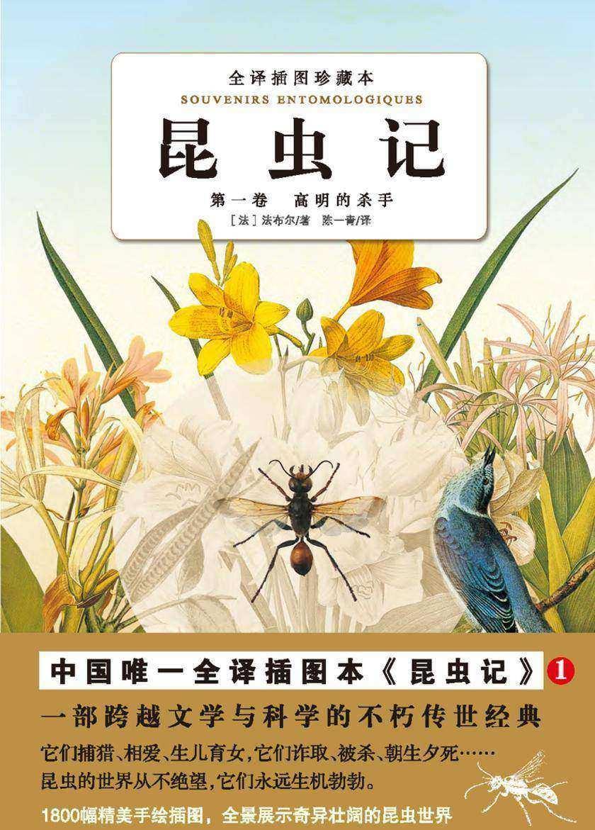 昆虫记(第一卷):高明的杀手(仅适用PC阅读)