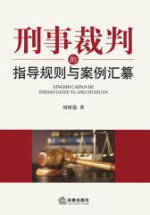 刑事裁判的指导规则与案例汇纂