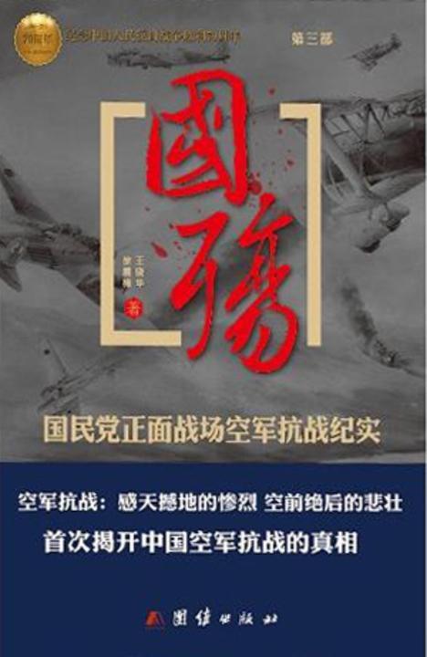 国殇:国民党正面战场空军抗战纪实(第三部)