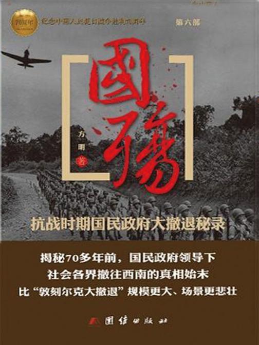 国殇:抗战时期民国政府大撤退秘录(第六部)