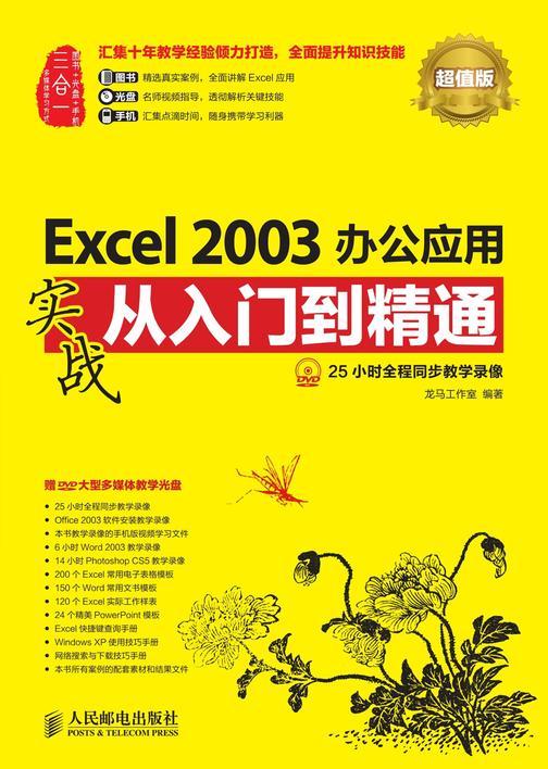 Excel 2003办公应用实战从入门到精通(超值版)(光盘内容另行下载,地址见书封底)(仅适用PC阅读)