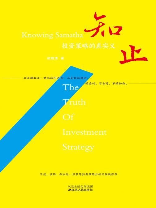 知止——投资策略的真实义