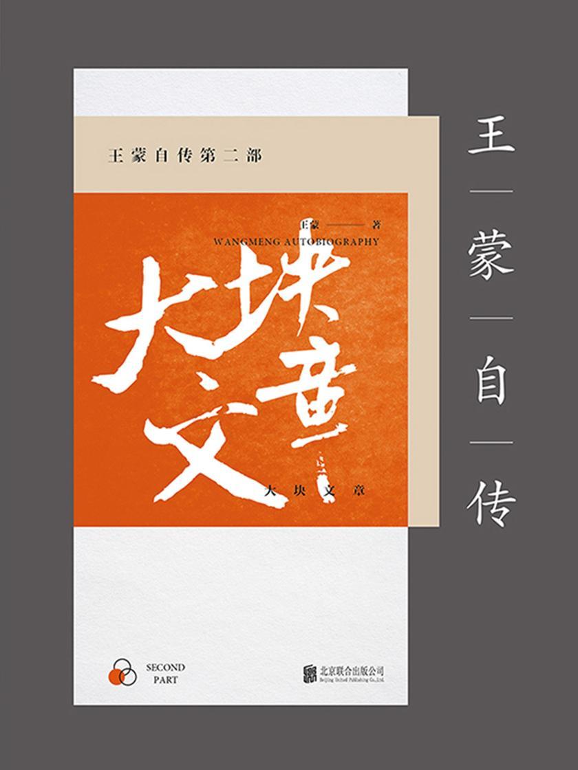 王蒙自传第二部:大块文章(新版)