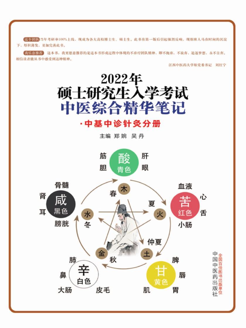 2022年硕士研究生入学考试中医综合精华笔记.中基中诊针灸分册