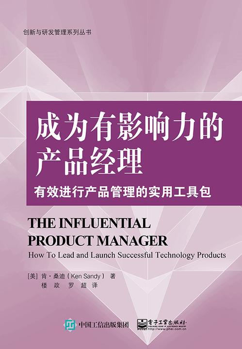 成为有影响力的产品经理:有效进行产品管理的实用工具包