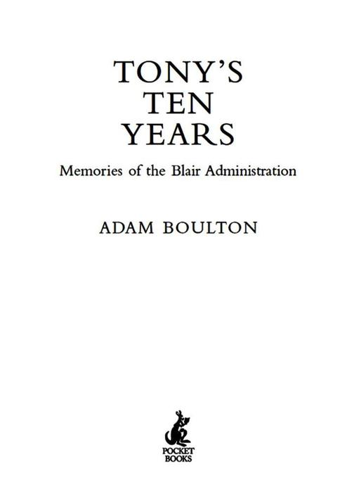 Tony's Ten Years
