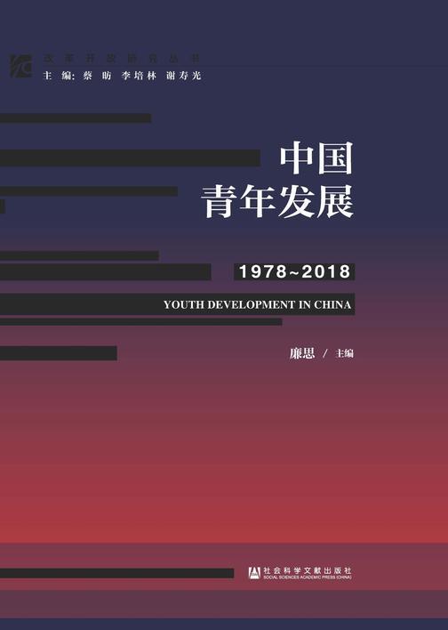中国青年发展(1978~2018)(改革开放研究丛书)