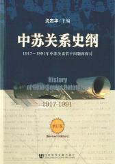 中苏关系史纲:1917~1991年中苏关系若干问题再探讨