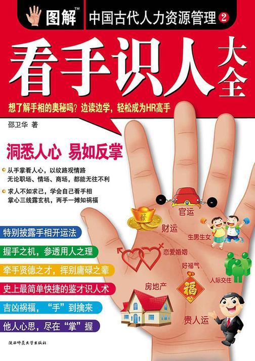 图解中国古代人力资源管理 第二部 看手识人大全